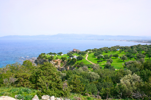 Akamas Peninsula in Cyprus, nature reserve.